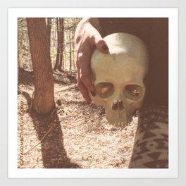 Catacomb Culture - Skull Witch Art Print