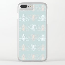 Bees? Clear iPhone Case