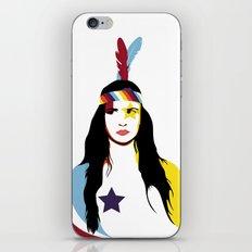 =Juliette Lewis///White= iPhone & iPod Skin