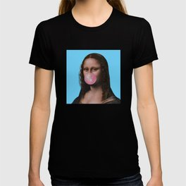 Mona Lisa (Leonardo da Vinci) with Bubblegum T-shirt