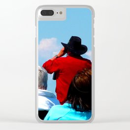 The Sun Seekers Clear iPhone Case