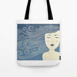 The Moon In Human Form Tote Bag
