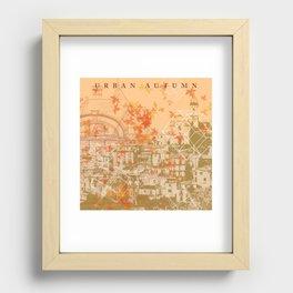Urban Autumn Recessed Framed Print