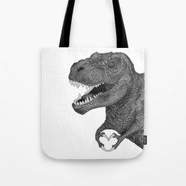 Dino Love Tote Bag
