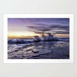 Morning Splash Art Print