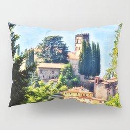 Duomo of Barga (color) Pillow Sham