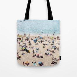 the ocean in Ericeira Tote Bag