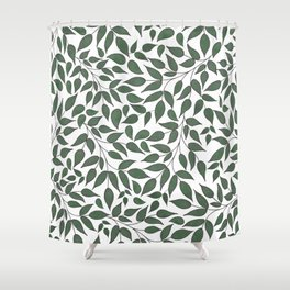 Foliage. Shower Curtain