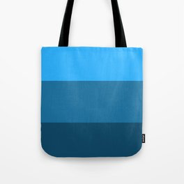 Blue Gradient Pattern Tote Bag