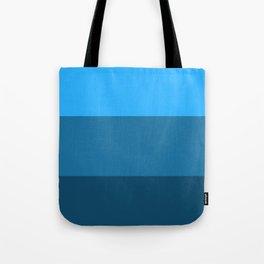 Blue Gradient Pattern Tote Bag
