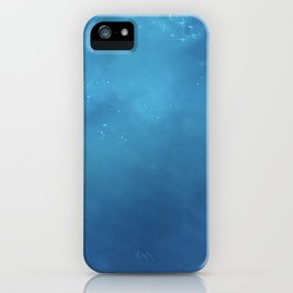 Lost at Sea Ocean Blue Photography iPhone Case