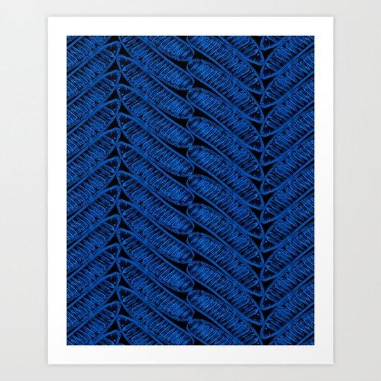 DELONIX Art Print