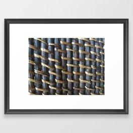Basket Framed Art Print