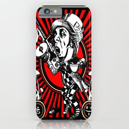Hatter Red iPhone Case