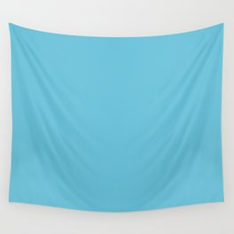 Pastel Blue. Wall Tapestry