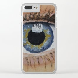 The Door To The World Clear iPhone Case