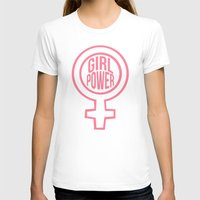 girl power T-shirts featuring girl power by jupiter