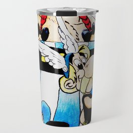 asterix and obelix Travel Mug