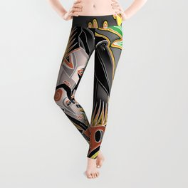 crow tribe Leggings