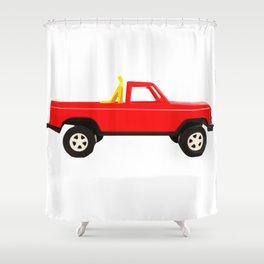Jump the Hump Shower Curtain