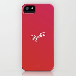 Partysahne    [gradient] iPhone Case