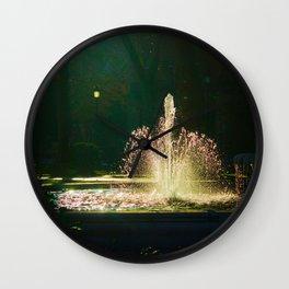 The Fountain of Apollo (soft) Wall Clock