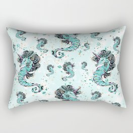 Audrey Mermaid Pattern 06 Rectangular Pillow