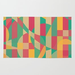 Abstract Graphic Art - Contemporary Music Rug