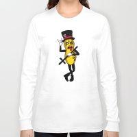 noir Long Sleeve T-shirts featuring Pinot Noir by Chris Piascik