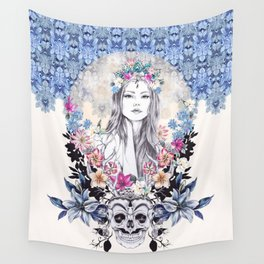 Topeng Wall Tapestry