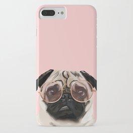 Intellectual Pug iPhone Case