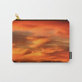 Sunrise - Munich look south Alpes and Lake Tegernsee Valley Carry-All Pouch