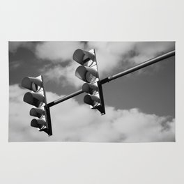 Traffic lights. Rug