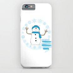 Christmas snowman iPhone 6s Slim Case