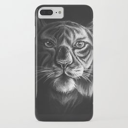 """White Tiger"" Drawing iPhone Case"