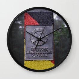 DDR GDR  The wall Berlin Wall Clock