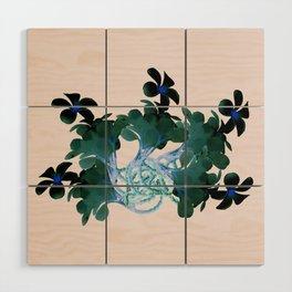 Marine halo Wood Wall Art