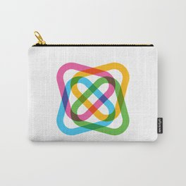 Colorful Swirl Carry-All Pouch