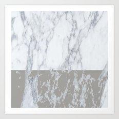 Marble 02 Art Print