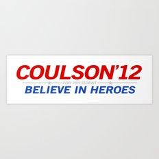 Coulson 2012 Art Print