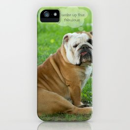 Fabulous iPhone Case