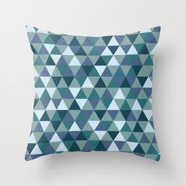 hex Throw Pillow
