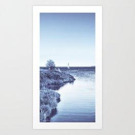 Follow the Shore Art Print