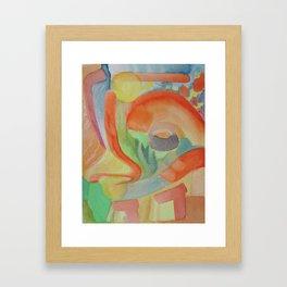 Time Framed Art Print