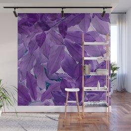 Lavender Leaves. Wall Mural