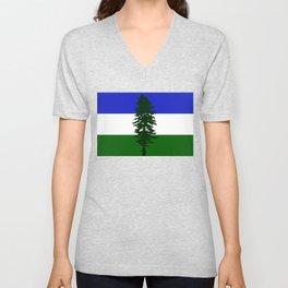Flag of Cascadia Unisex V-Neck