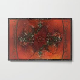 It Came From the West Metal Print