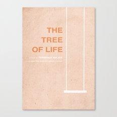 The Tree of Life - MINIMALIST POSTER Canvas Print