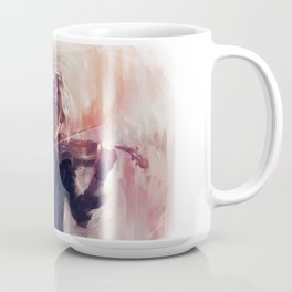 Violin and James Carstairs Coffee Mug