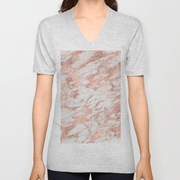 Blush Gold Quartz Unisex V-Neck